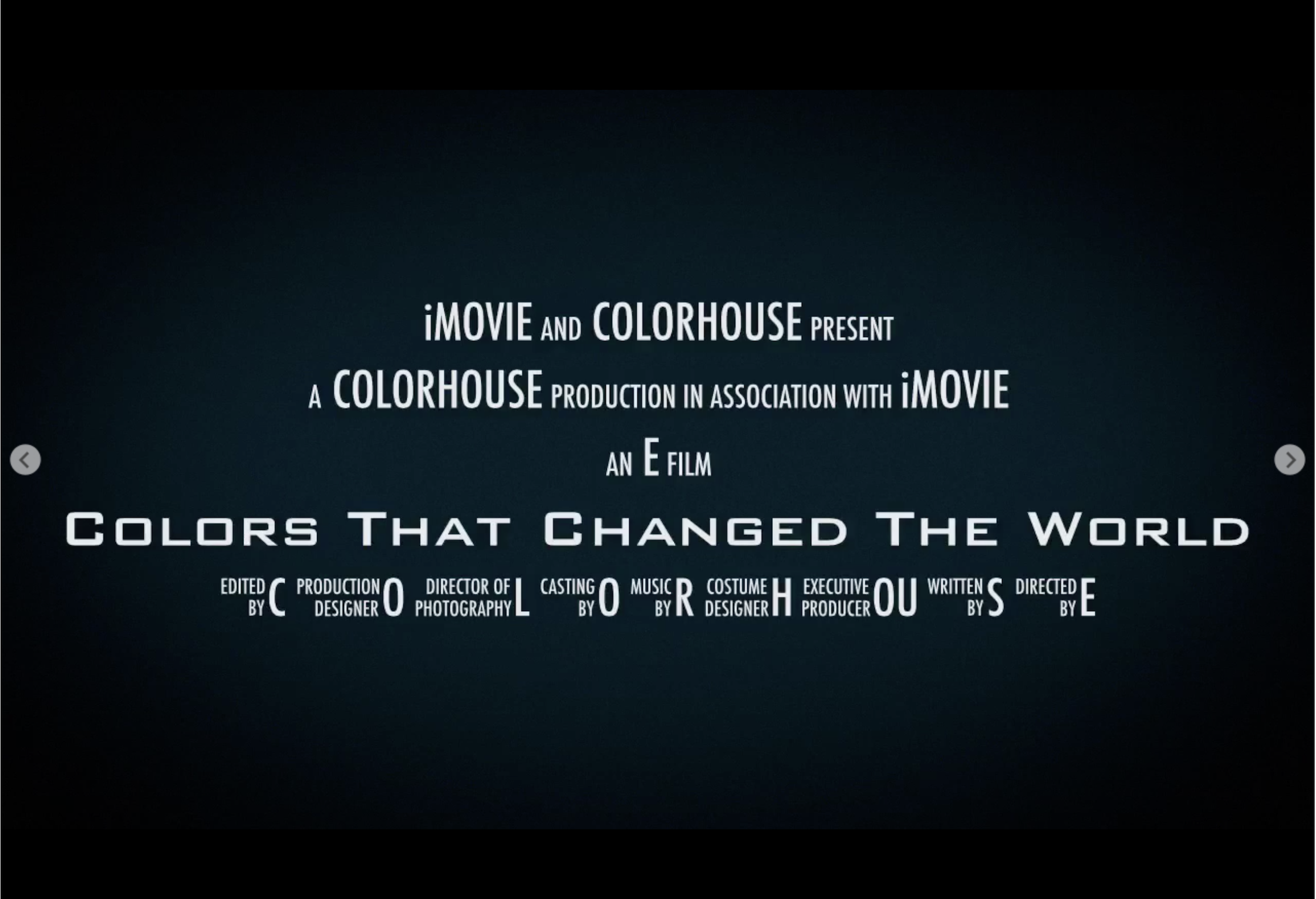 Colors That Changed the World